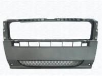 Бампер передний центральная часть тёмно-серый