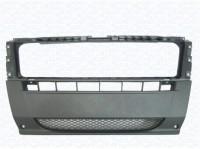 Бампер передний центральная часть черный